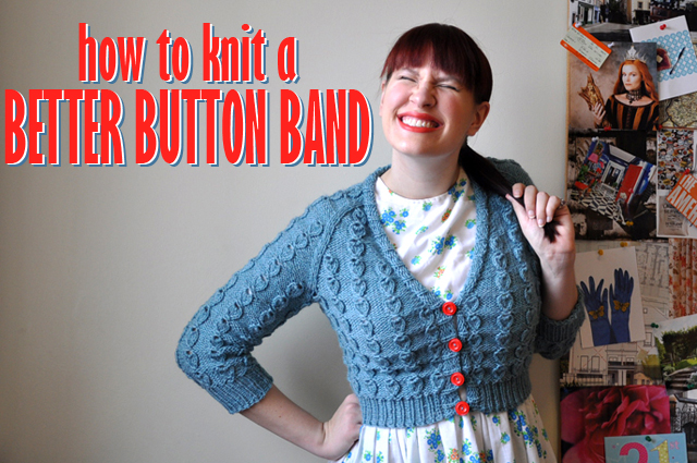 How to Knit a Better Button Band Untangling Knots