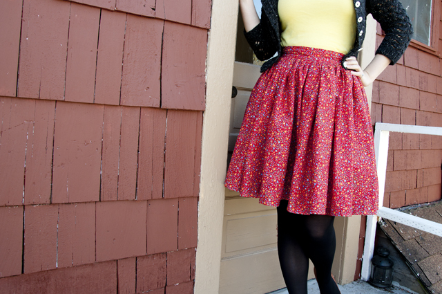 red_floral_skirt