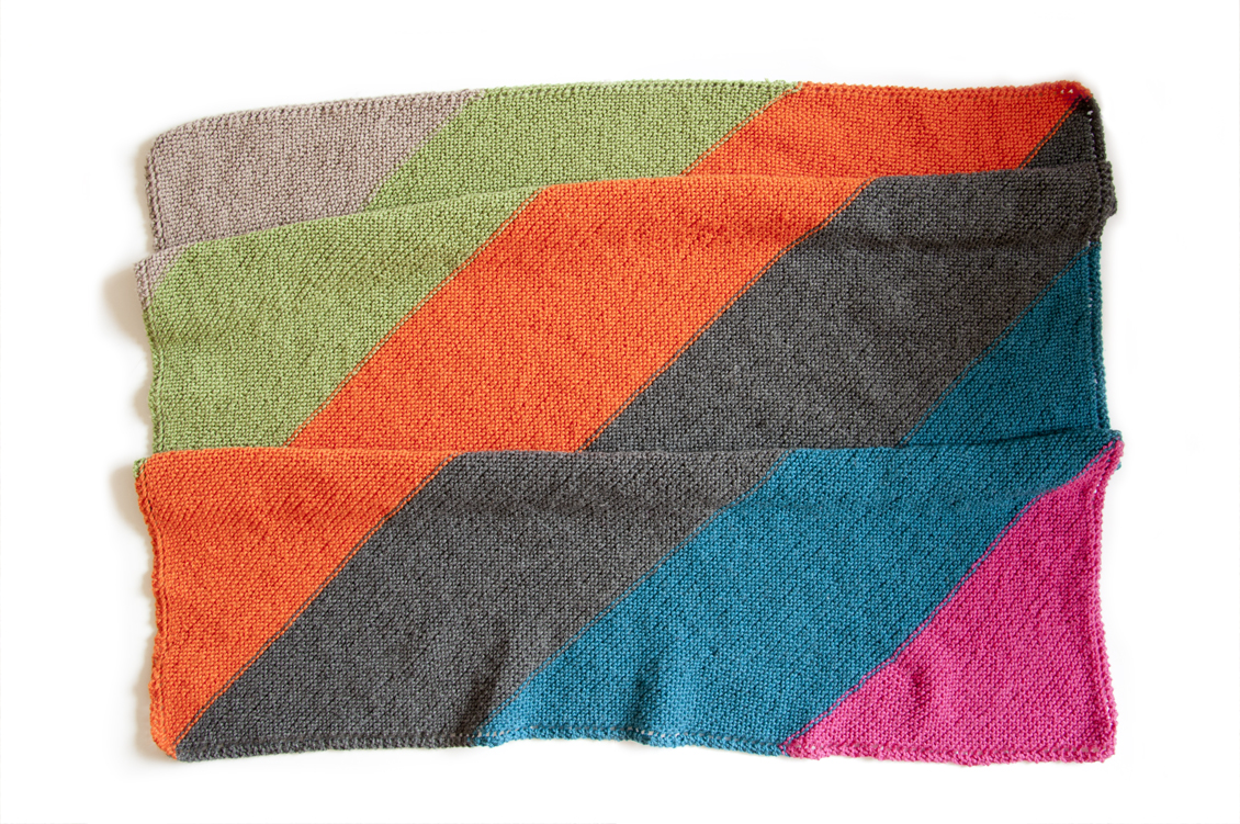 An Easy Baby Blanket | Untangling Knots