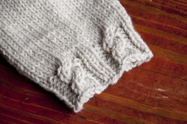 Flat Knot Knitting Stitch : Converting Flat Stitch Patterns to Round Untangling Knots