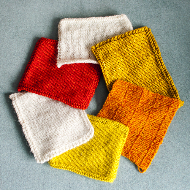 Knitted Swatch Free Patterns - Patterns Kid
