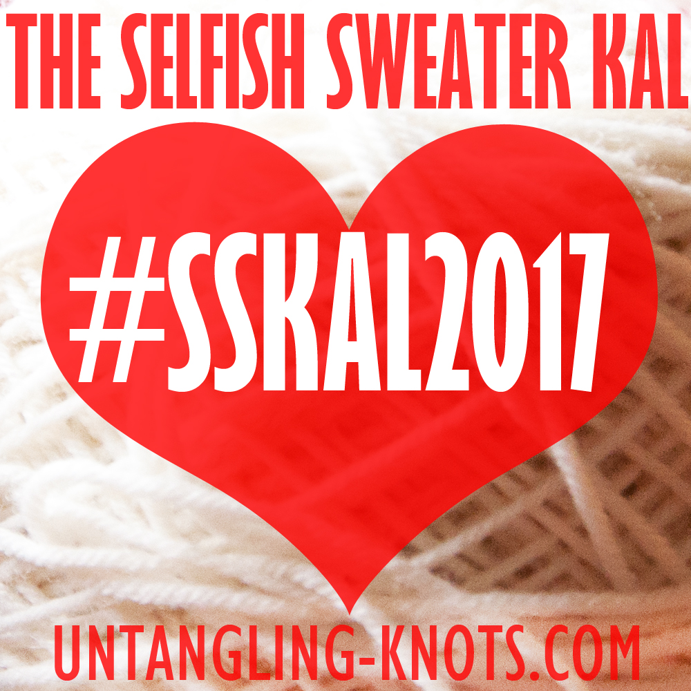 The Selfish Sweater KAL 2017