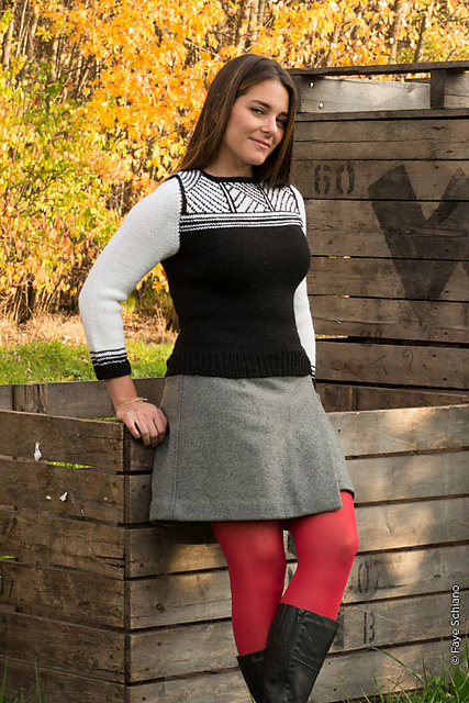 Quarry – A New Pullover Pattern
